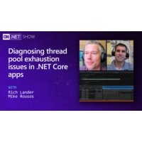 Logo of the podcast Diagnosing thread pool exhaustion issues in .NET Core apps  | On .NET