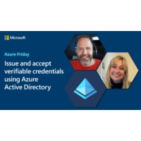 Logo of the podcast Issue and accept verifiable credentials using Azure Active Directory | Azure Friday