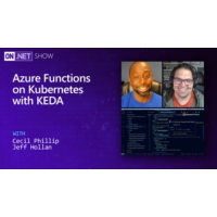 Logo of the podcast Event Driven applications on Kubernetes with KEDA | On .NET