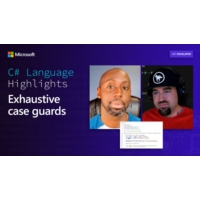 Logo of the podcast C# Language Highlights: Exhaustive case guards | On .NET