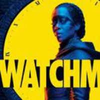 "Logo of the podcast Trent Reznor and Atticus Ross on HBO's ""Watchmen"""