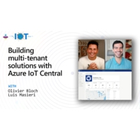 Logo of the podcast Building multi-tenant solutions with Azure IoT Central  | Internet of Things Show