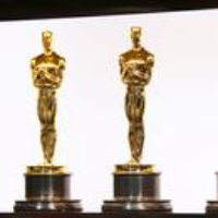 Logo of the podcast The Politics of the Pandemic Oscars