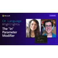 """Logo of the podcast C# Language Highlights: The """"in"""" Parameter Modifier 