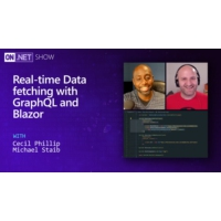 Logo of the podcast Real-time Data fetching with GraphQL and Blazor | On .NET