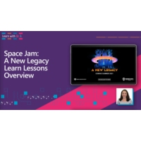 Logo of the podcast SPACE JAM: A NEW LEGACY Learn Lessons Overview | Learn with Dr. G