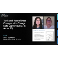Logo of the podcast Track and Record Data Changes with Change Data Capture (CDC) in Azure SQL | Data Exposed