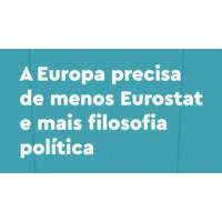Logo of the podcast Menos Eurostat e mais filosofia política