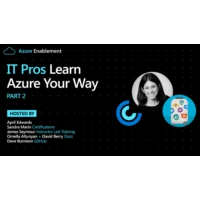 Logo of the podcast IT Pros: Learn Azure Your Way Pt. 2 | Azure Enablement