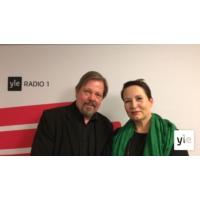 Logo of the podcast Kesäkuun vieraana Telan toimitusjohtaja Suvi-Anne Siimes