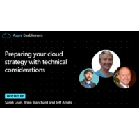 Logo du podcast Preparing your cloud strategy with technical considerations | Azure Enablement