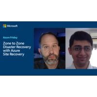 Logo of the podcast Zone to Zone Disaster Recovery with Azure Site Recovery | Azure Friday