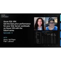 Logo of the podcast Azure SQL VM: Get the best price-performance for your SQL Server workloads on Azure VM | Data Expos…