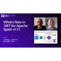 Logo of the podcast What's New in .NET for Apache Spark v1.1.1 | On .NET