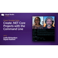 Logo of the podcast Create .NET Core Projects with the Command Line | Visual Studio Toolbox