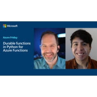 Logo du podcast Durable functions in Python for Azure Functions | Azure Friday