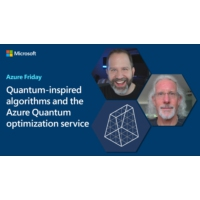 Logo of the podcast Quantum-inspired algorithms and the Azure Quantum optimization service | Azure Friday