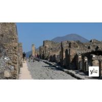 Logo of the podcast Jätteet kertovat, miten Pompeijissa elettiin juuri ennen tuhoa - suomalaistutkijat mukana