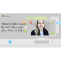 Logo of the podcast VS Code: Remote Development with SSH, VMs, and WSL | Tabs vs Spaces