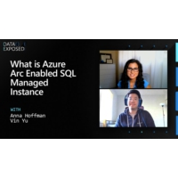 Logo of the podcast What is Azure Arc Enabled SQL Managed Instance | Data Exposed