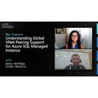 Logo of the podcast Understanding Global VNet Peering Support for Azure SQL Managed Instance | Data Exposed