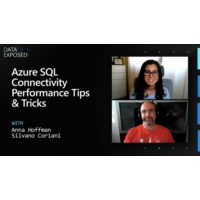Logo of the podcast Azure SQL Connectivity Performance Tips & Tricks | Data Exposed
