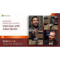 Logo of the podcast South Africa: Microsoft Middle East & Africa - Interview with Julien Bertin | CodeStories