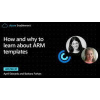 Logo du podcast How and why to learn about ARM templates | Azure Enablement