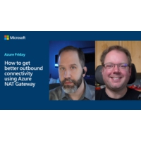Logo of the podcast How to get better outbound connectivity using Azure NAT Gateway | Azure Friday