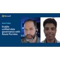 Logo of the podcast Enable unified data governance with Azure Purview | Azure Friday