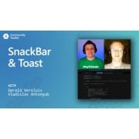 Logo of the podcast SnackBar and Toast (Xamarin Community Toolkit) | The Xamarin Show