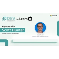 Logo of the podcast Keynote: The Future of Modern Application Development with .NET and Azure | DEVintersection 2021 Or…