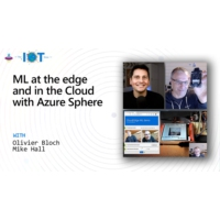 Logo of the podcast ML at the edge and in the Cloud with Azure Sphere | Internet of Things Show
