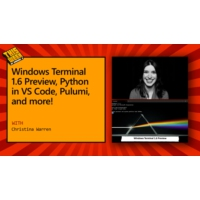 Logo of the podcast TWC9: Windows Terminal 1.6 Preview, Python in VS Code, Pulumi, and more! | This Week On Channel 9