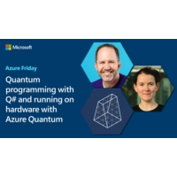 Logo of the podcast Quantum programming with Q# and running on hardware with Azure Quantum | Azure Friday