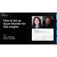 Logo of the podcast How to Set up Azure Monitor for SQL Insights | Data Exposed