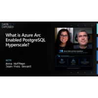Logo of the podcast What is Azure Arc Enabled PostgreSQL Hyperscale? | Data Exposed