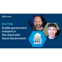 Logo of the podcast Enable government missions in the cloud with Azure Government | Azure Friday