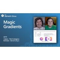 Logo of the podcast Magic Gradients | The Xamarin Show | The Xamarin Show
