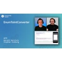 Logo of the podcast EnumToIntConverter (Xamarin Community Toolkit) | The Xamarin Show
