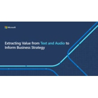Logo of the podcast Extracting Value from Text and Audio to Inform Business Strategy | All Around Azure: A Developer's …