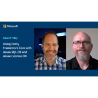 Logo of the podcast Using Entity Framework Core with Azure SQL DB and Azure Cosmos DB | Azure Friday
