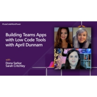 Logo du podcast Building Teams Apps with Low Code Tools with April Dunnam | #LessCodeMorePower