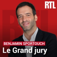 Logo of the podcast Le Grand Jury d'Adrian Quatennens