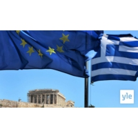 Logo du podcast Eteläinen Eurooppa yrittää päästä velkakriisin varjosta