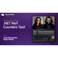 Logo of the podcast Performance Profiling | .NET Perf Counters Tool | Visual Studio Toolbox
