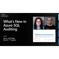 Logo du podcast What's New in Azure SQL Auditing | Data Exposed