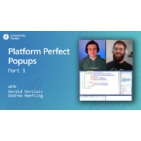 Logo du podcast Platform Perfect Popups - Part 1 (Xamarin Community Toolkit) | The Xamarin Show