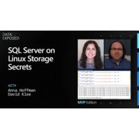 Logo of the podcast SQL Server on Linux Storage Secrets | Data Exposed