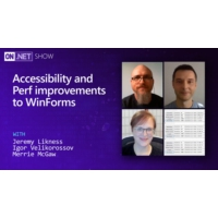 Logo du podcast Accessibility and Perf improvements to WinForms | On .NET